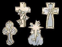 RiverView Molds #1045 Crosses